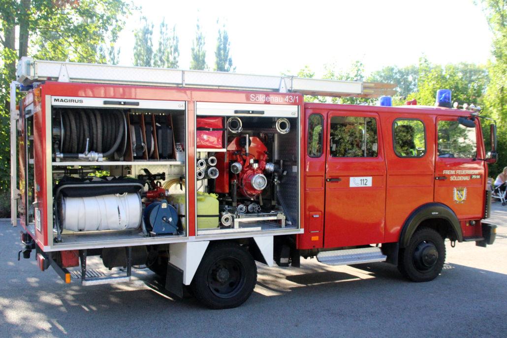 Feuerwehrauto - Beifahrerseite